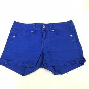 American Eagle Womens Denim Jean Short Shorts 4